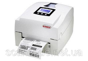 Godex EZ-1100+ / 1200+ / 1300+ — принтер этикеток (штрихкодов) настольный термо / термотрансферный