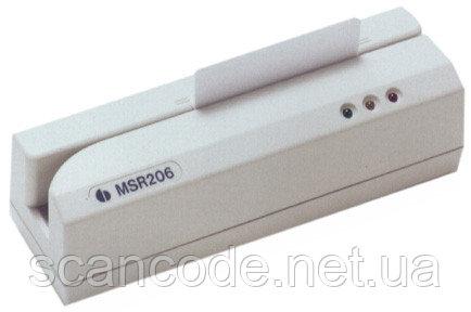 MSR 206 С энкодер магнитных карт, устройство для записи / считывания магнитной полосы HiCo / LoCo