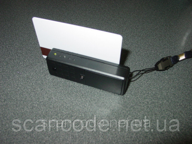 Mini 400 считыватель магнитных карт с памятью, портативный ридер магнитной полосы