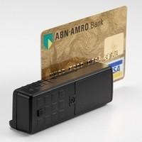 Mini 400 считыватель магнитных карт с памятью, портативный ридер магнитной полосы_0