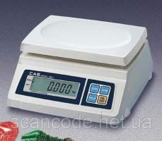 Весы фасовочные CAS SW_2