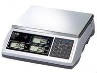 CAS ER (EM-R) торговые (фасовочные) электронные весы с аккумулятором