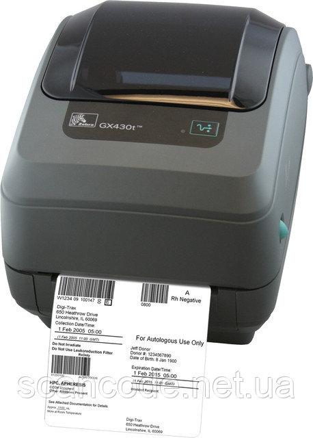 Принтер Zebra GX 430T