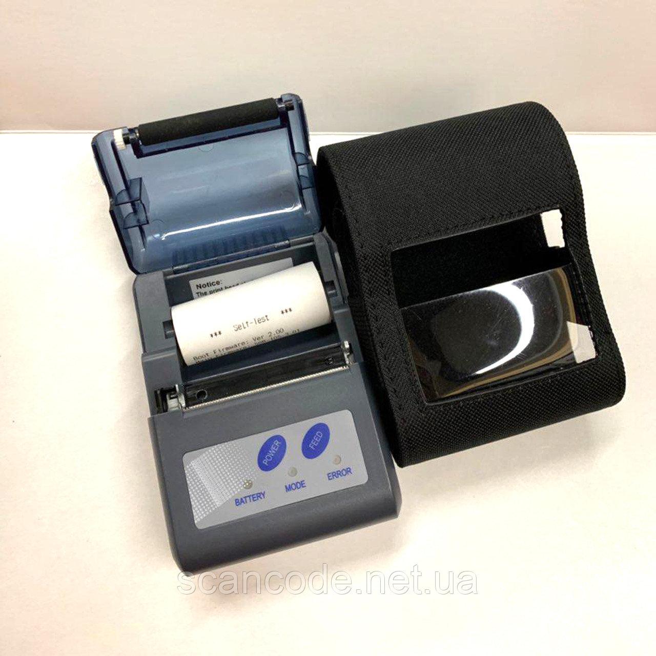 MPT II портативный чековый принтер bluetooth (ширина 58 мм)