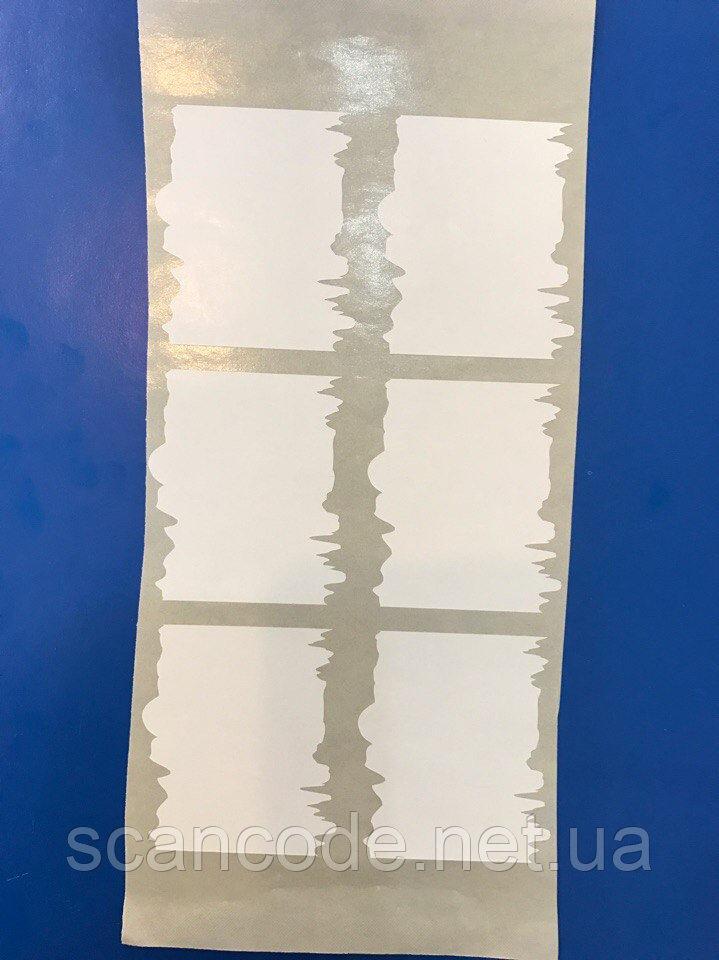 Фигурная наклейка