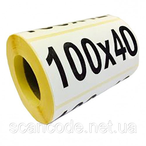 Этикетка 100х40 термо эко