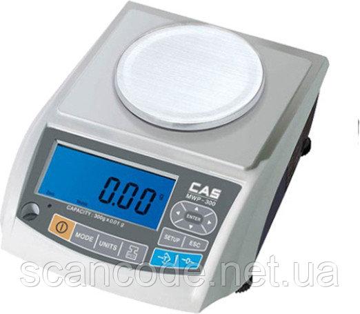 Весы лабораторные CAS MWP (150г / 300г / 600г)