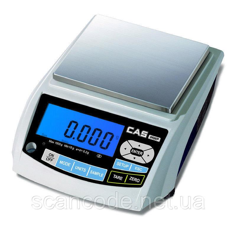 Весы лабораторные CAS MWP (1200г / 1500г / 3000г)
