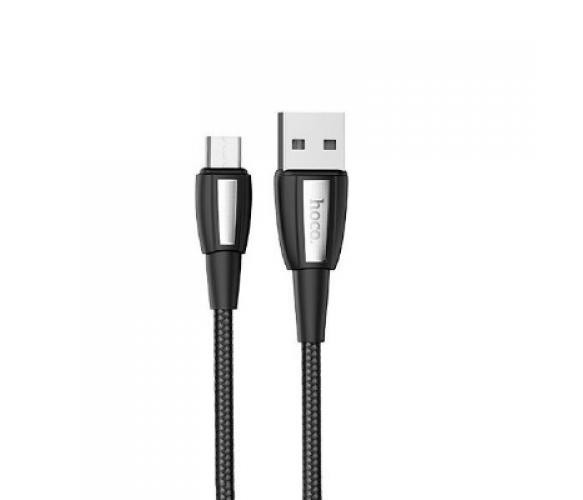 Кабель Hoco X39, Type-C-USB, 2.4A, Black, длина 1м, BOX