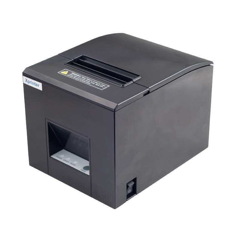 Принтер чеков Xprinter XP-E200M USB с автообрезкой